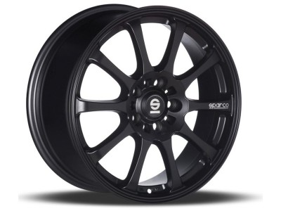 Sparco Drift Matt Black Alufelni