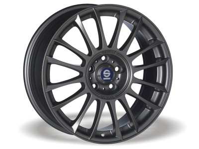 Sparco Pista Matt Silver Tech Wheel