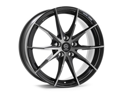 Sparco Trofeo 5 Fume Black Full Polished Wheel