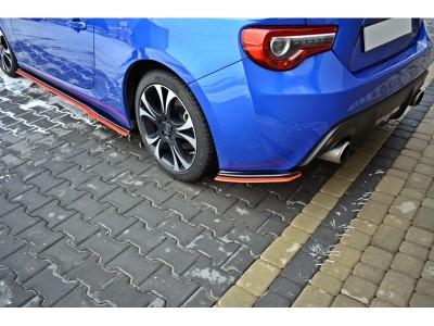 Subaru BRZ Master Rear Bumper Extensions