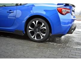 Subaru BRZ Racer Rear Bumper Extensions