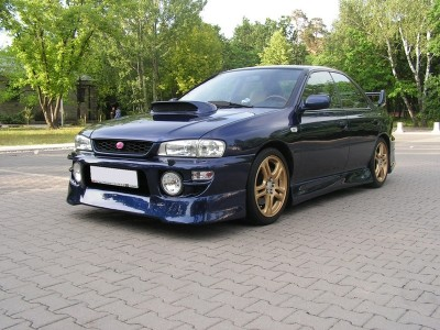 Subaru Impreza MK1 Facelift J-Spec2 Front Bumper Extension