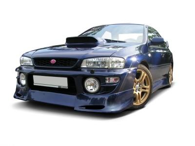 Subaru Impreza MK1 Facelift J-Style Front Bumper Extension