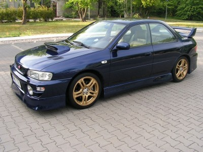 Subaru Impreza MK1 J-Spec Side Skirts