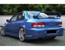 Subaru Impreza MK1 Mistery Wide Rear Wheel Arch Extension