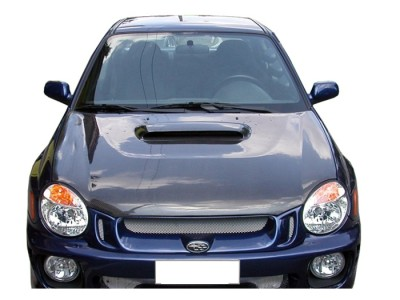 Subaru Impreza MK2 Capota OEM Fibra De Carbon