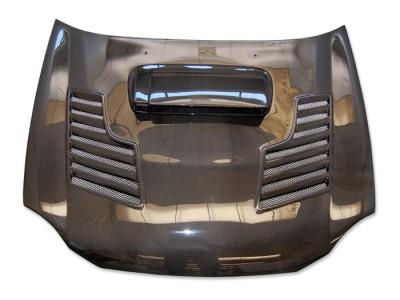 Subaru Impreza MK2 Capota Razor Fibra De Carbon