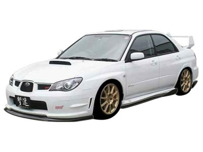 Subaru Impreza MK2 Facelift C1 Front Bumper Extension