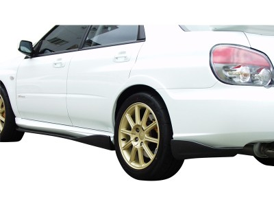 Subaru Impreza MK2 Facelift C1 Heckansatz