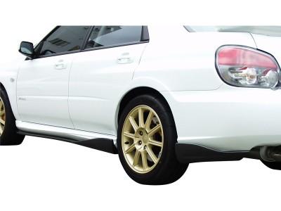 Subaru Impreza MK2 Facelift C1 Rear Bumper Extension