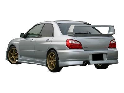 Subaru Impreza MK2 Facelift CX Rear Bumper Extension