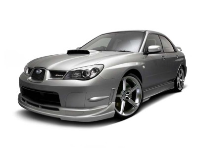 Subaru Impreza MK2 Facelift J-Style Front Bumper Extension