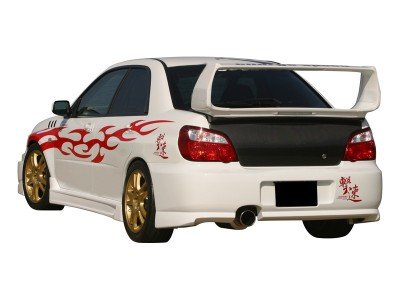 Subaru Impreza MK2 Facelift Japan Rear Bumper