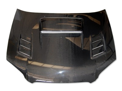 Subaru Impreza MK2 Facelift Razor Carbon Fiber Hood