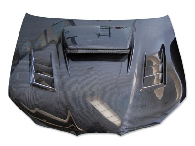 Subaru Impreza MK2 Facelift Razor-X Carbon Fiber Hood