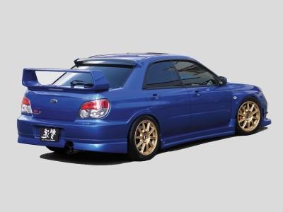 Subaru Impreza MK2 Facelift S-Line Rear Bumper Extension