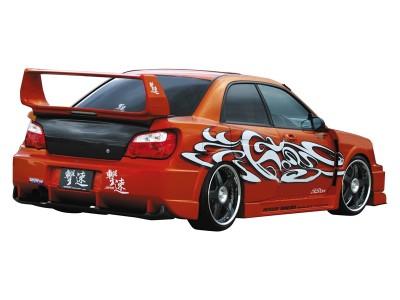 Subaru Impreza MK2 Facelift Tokyo Front Wheel Arches