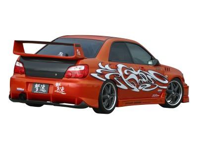 Subaru Impreza MK2 Facelift Tokyo Rear Wing