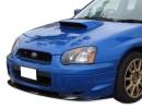 Subaru Impreza MK2 Facelift WRX/STI Extensie Bara Fata Exclusive Fibra De Carbon