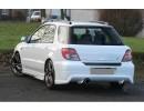 Subaru Impreza MK2 Wagon J-Style Rear Bumper Extension