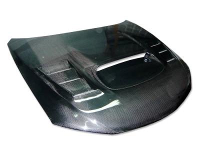 Subaru Impreza MK3 Capota Razor Fibra De Carbon
