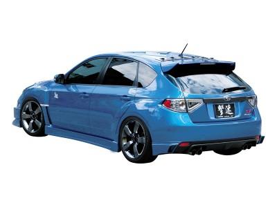 Subaru Impreza MK3 HT Rear Bumper Extensions