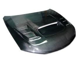 Subaru Impreza MK3 Razor Carbon Motorhaube