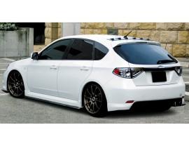 Subaru Impreza MK3 Tokyo Rear Bumper Extensions
