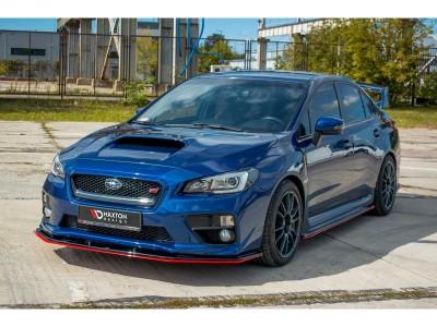 Subaru Impreza MK4 WRX/STI Extensie Bara Fata Matrix2