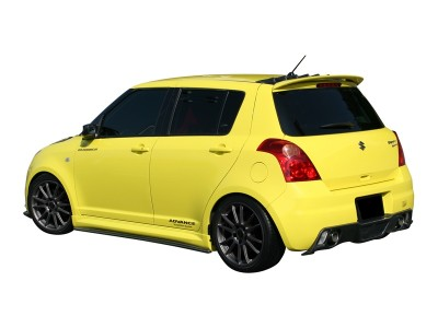 Suzuki Swift MK2 Japan-Style Rear Bumper Extensions