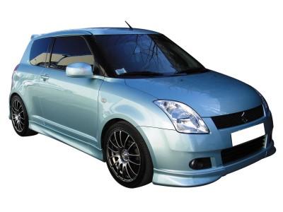 Suzuki Swift MK2 Sport Front Bumper Extensions