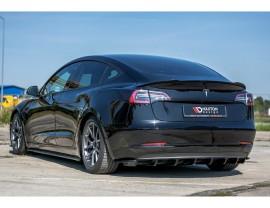 Tesla Model 3 MX Rear Wing Extension