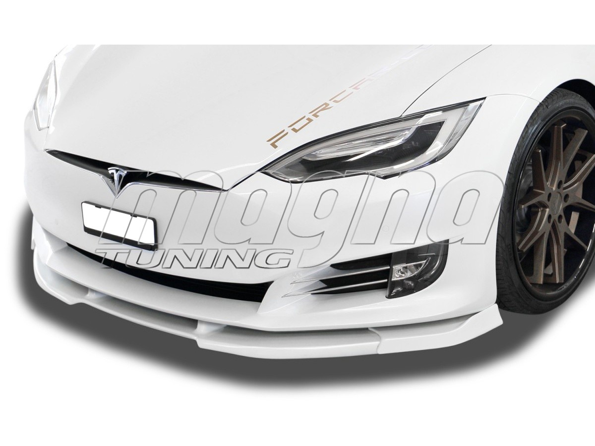 Tesla Model S Facelift Verus-X Front Bumper Extension