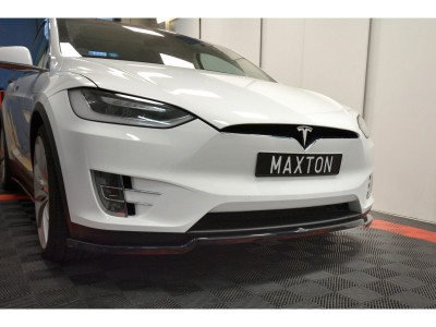 Tesla Model X Matrix Frontansatz