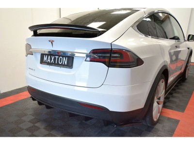 Tesla Model X Matrix Heckansatz