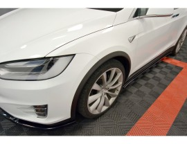 Tesla Model X Matrix Side Skirts