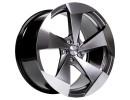 Tomason TN15 Hyperblack Polished Wheel