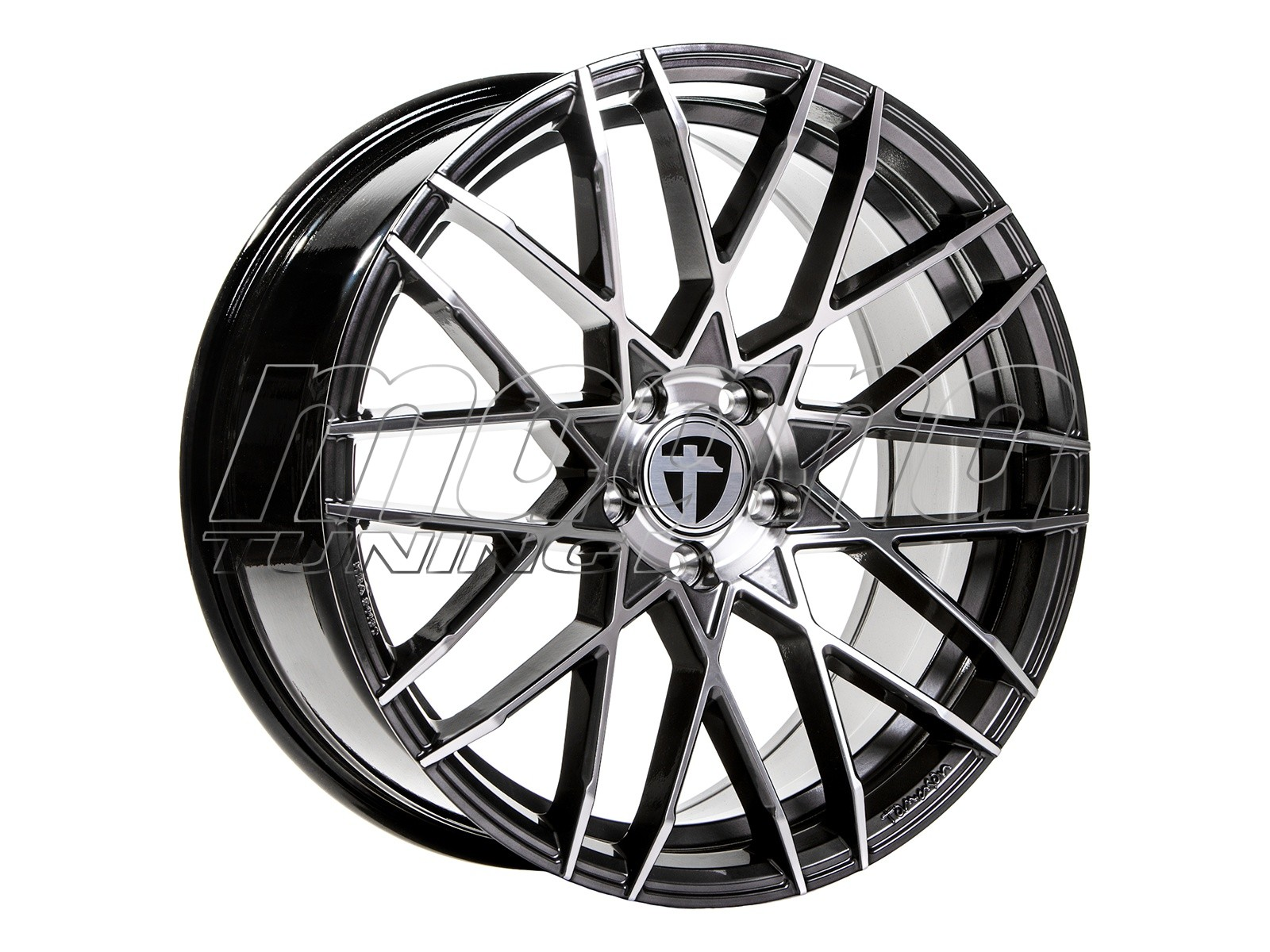 Tomason TN19 Dark Hyperblack Polished Felge