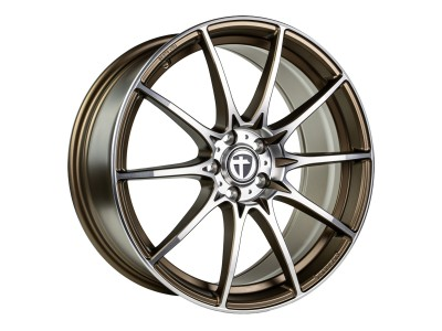 Tomason TN25 Matt Bronze Polished Wheel