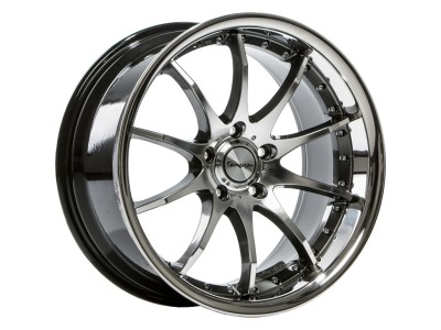 Tomason TN8 Hyperblack Diamond Polished Wheel