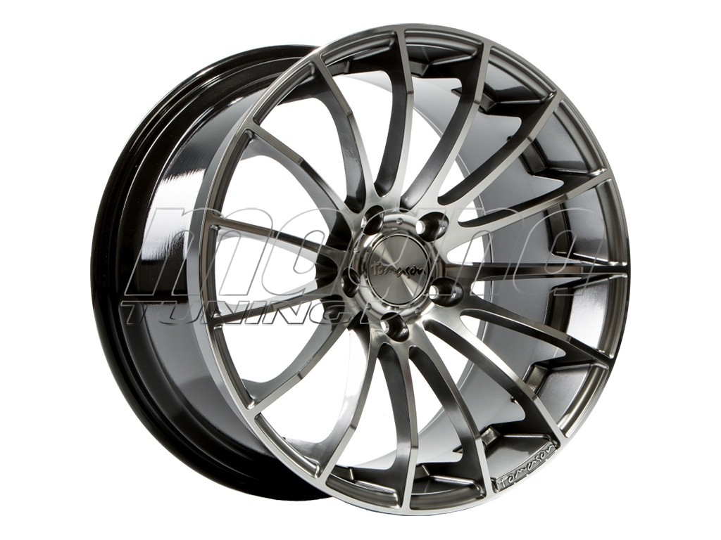 tomason tn9 suv hyperblack diamond polished wheel