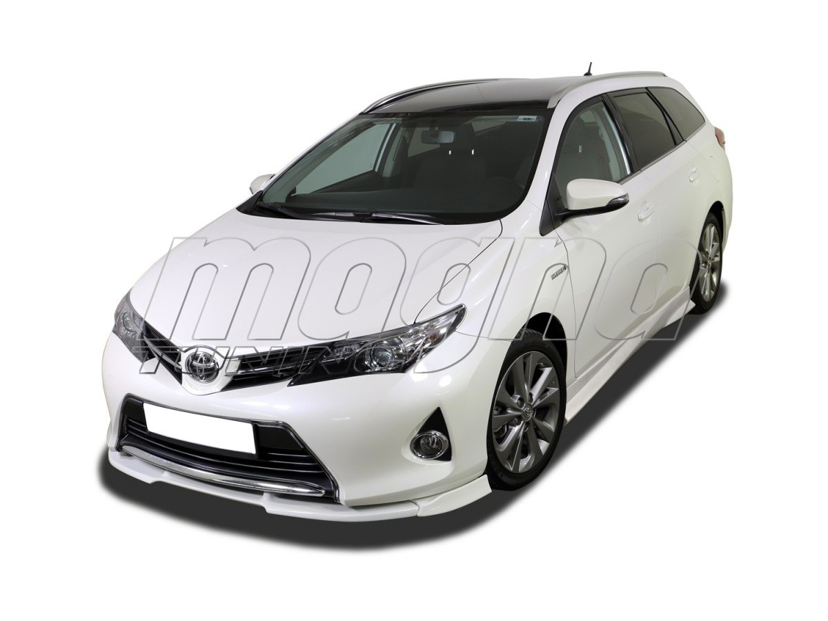 toyota auris e180 verus x front bumper extension. Black Bedroom Furniture Sets. Home Design Ideas