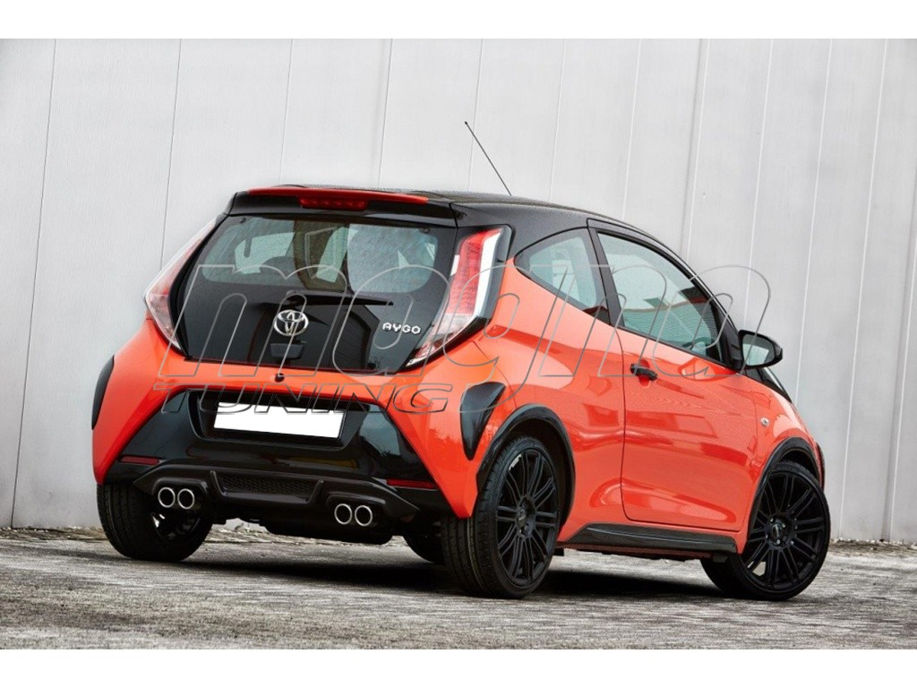toyota aygo 2 mystic rear wing. Black Bedroom Furniture Sets. Home Design Ideas