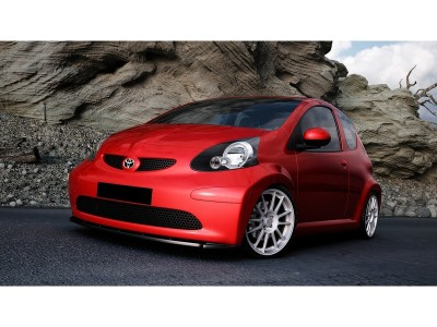 Toyota Aygo M-Style Front Bumper Extension