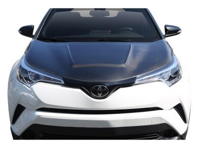 Toyota C-HR Cyber Carbon Motorhaube