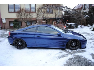 Toyota Celica T23 MX Side Skirt Extensions