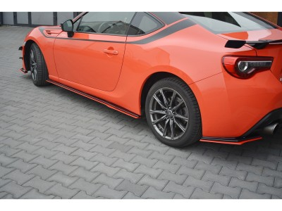 Toyota GT86 Facelift Master Side Skirt Extensions