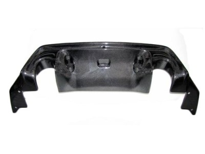 Toyota GT86 GT3-Style Carbon Fiber Rear Bumper Extension