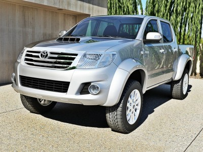 Toyota Hilux MK7 MX Wheel Arch Extensions