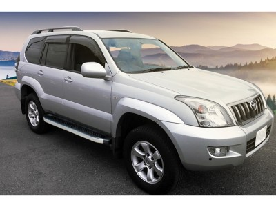 Toyota Land Cruiser Prado J120 Atos Running Boards